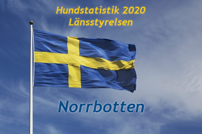 Länsstyrelsen Norrbotten - Hundstatistik 2020